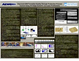Improved OSB Formation Quality Through Production Process Control Using 3D Image Analysis and Laser Profilometry