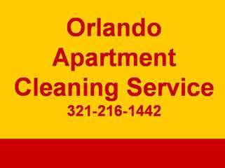 Apartment Cleaning Service 321-216-1442 Orlando