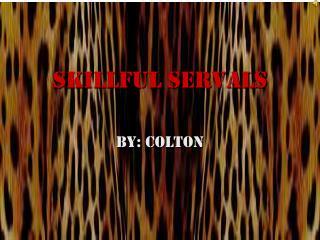 Skillful Servals