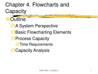 Chapter 4. Flowcharts and Capacity