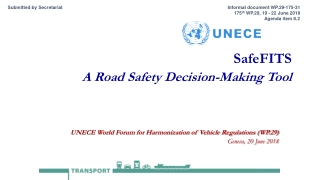 SafeFITS A Road Safety Decision-Making Tool