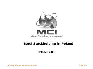 Steel Stockholding in Poland