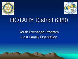 ROTARY District 6380