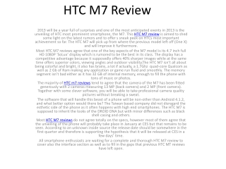 htc m7 review