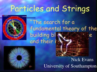 Particles and Strings