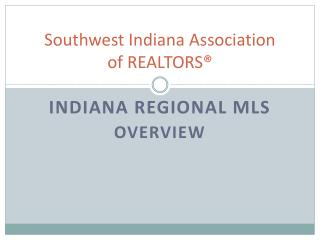 Southwest Indiana Association of REALTORS®