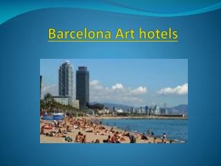 Barcelona Art hotels