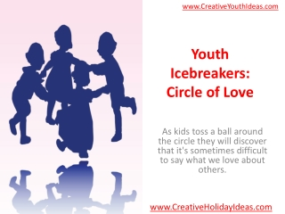 Youth Icebreakers: Circle of Love