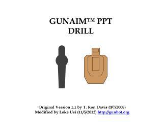 GUNAIM™ PPT DRILL