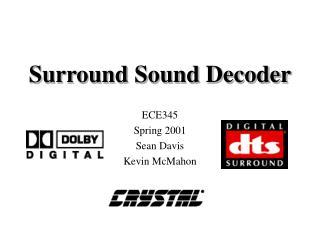Surround Sound Decoder