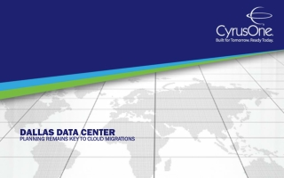 Dallas Data Center: Planning Remains Key to Cloud Migrations