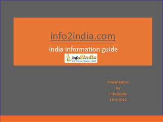 india information guide