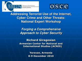 Addressing Terrorist Use of the Internet