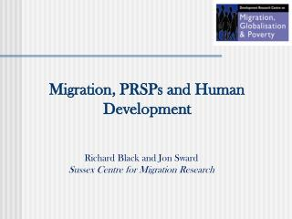 Migration, PRSPs and Human Development