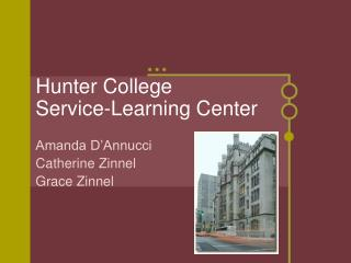 Hunter College Service-Learning Center