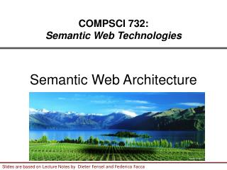 COMPSCI 732: Semantic Web Technologies