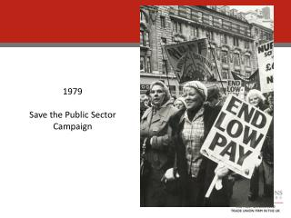 1979 Save the Public Sector Campaign