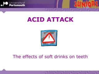 The effects of soft drinks on teeth