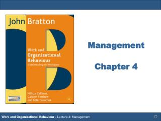 Management Chapter 4