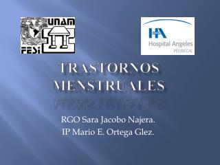 TRASTORNOS MENSTRUALES