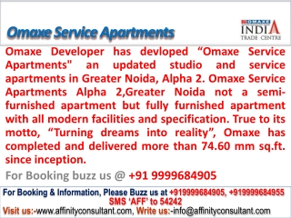 Omaxe Service Apartments