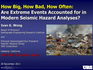 How Big, How Bad, How Often:  Are Extreme Events Accounted for in Modern Seismic Hazard Analyses