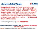 Omaxe Retail Shops Greater Noida