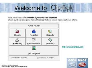 ClienTrak Spa and Salon Software