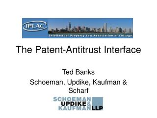 The Patent-Antitrust Interface
