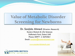 Newborn Screening in KSA
