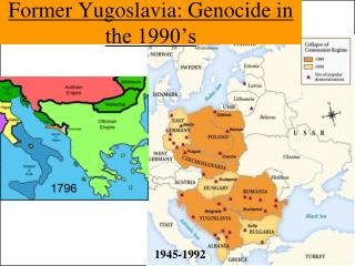 Former Yugoslavia: Genocide in the 1990's