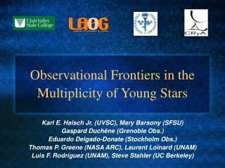 Observational Frontiers in the Multiplicity of Young Stars