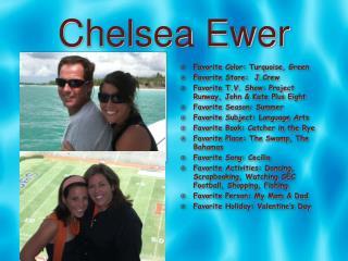 Chelsea Ewer