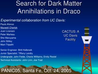 Search for Dark Matter Annihilations in Draco