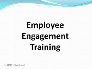 Employee Engagement Training
