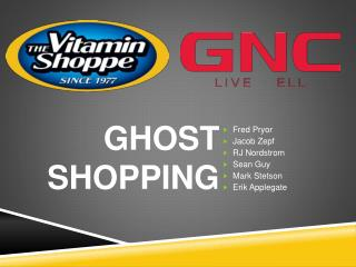 Ghost Shopping