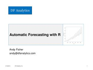 Automatic Forecasting with R