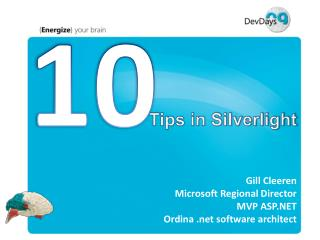 Tips in Silverlight