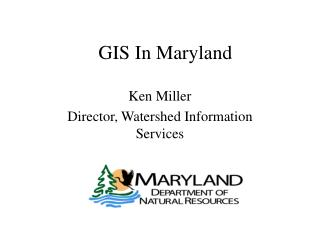 GIS In Maryland