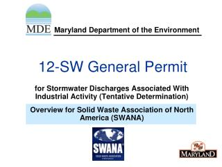 12-SW General Permit