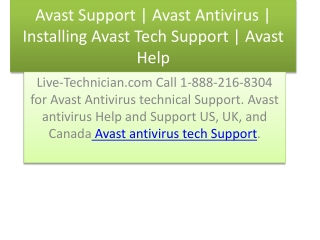 avast support | avast tech help | avast tech support