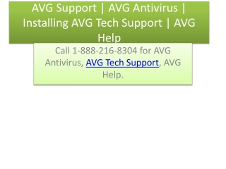 AVG Support | AVG tech support