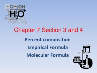 Chapter 7 Section 3 and 4
