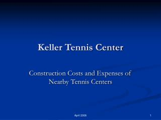 Keller Tennis Center