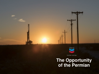 The Opportunity of the Permian