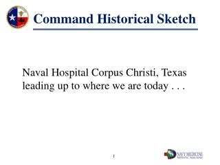 Command Historical Sketch