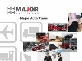 Major Holding Automotive logistics