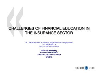 CHALLENGES OF FINANCIAL EDUCATION IN THE INSURANCE SECTOR