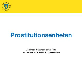 Prostitutionsenheten
