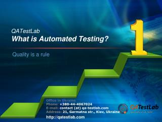 What is Automated Testing?